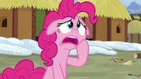 Pinkie Pie apologizes to Prince Rutherford S7E11