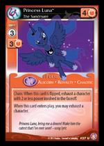 Princess Luna, The Sandmare card MLP CCG