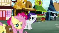 Rarity call Fluttershy S2E19