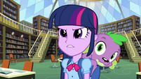 Twilight determined and Spike EG