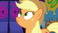 Applejack looking up at the roller coaster S6E20.png