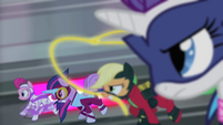 Power Ponies galloping S4E06