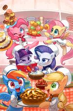 MLP The Movie Prequel issue 2 cover RI textless
