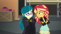 Sunset Shimmer smirking at Juniper Montage EGS2.png