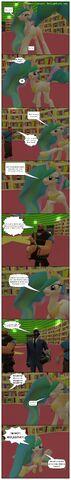 File:FANMADE Gmod comic Celestia tries to be sexy.jpg