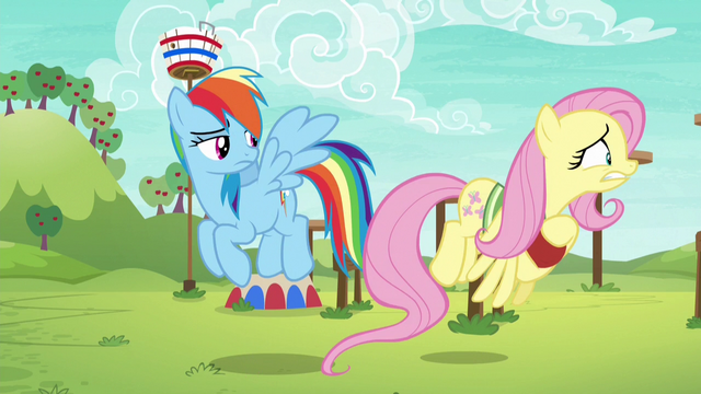 File:Fluttershy flying toward the obstacle course S6E18.png