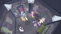 Mane 6 trapped inside a house S5E02.png