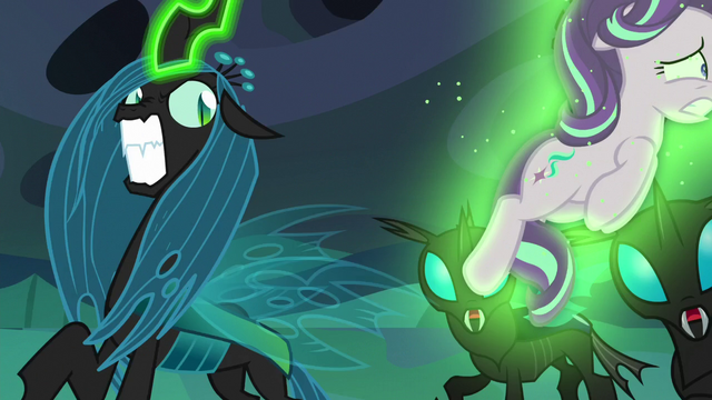 File:Queen Chrysalis hurls Starlight across the room again S6E26.png