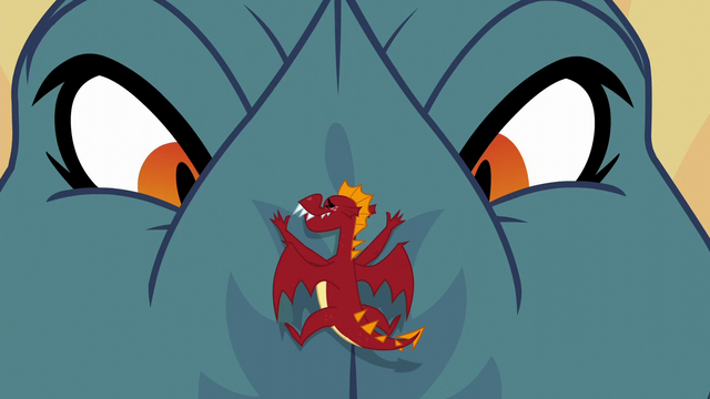 """File:Torch """"what is the meaning of this?!"""" S6E5.png"""