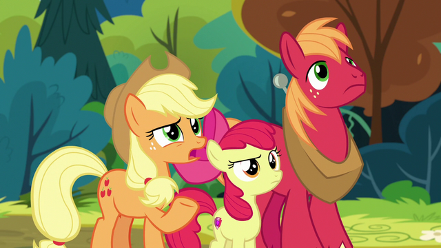 "File:Applejack ""the firewood salespony?"" S7E13.png"