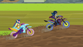 Indigo Zap passes Rainbow in motocross EG3.png