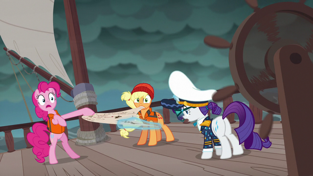 "File:Pinkie ""one of us should just be captain"" S6E22.png"