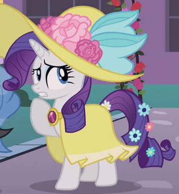 File:Rarity flowery dress ID S2E9.png