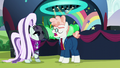 Svengallop asks where Pinkie Pie is S5E24.png