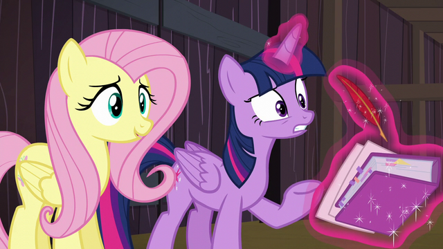 File:Twilight takes notes as she questions the McColts S5E23.png