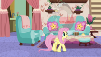 """Fluttershy """"to bounce ideas off of"""" S7E12"""