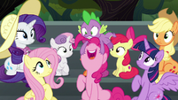 "Pinkie Pie ""I hope there's cotton candy!"" S6E7"