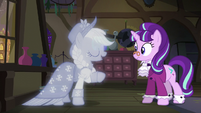 "The Spirit of Hearth's Warming Past ""they'll be along in a bit"" S06E08"