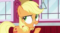 """Applejack """"give him a few barrels of cider"""" S6E23"""