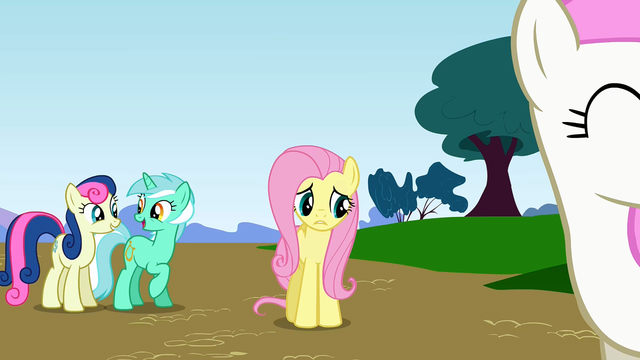 "File:Fluttershy ""this is an emergency"" S1E7.png"