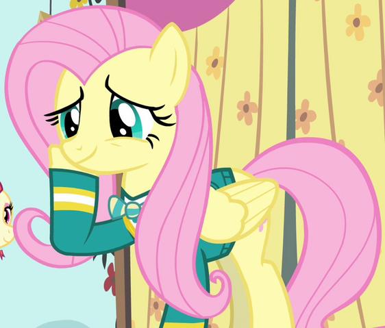 File:Fluttershy Pony Tones attire ID S4E14.png