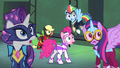 Power Ponies looking surprised S4E06.png