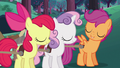 Apple Bloom and Sweetie Belle agree with Scootaloo S6E14.png