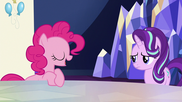 "File:Pinkie Pie ""it is definitely bad"" S6E25.png"