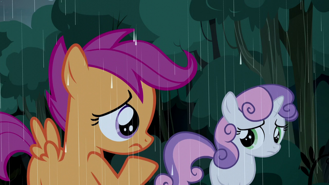 File:Scootaloo and Sweetie Belle unsure S5E6.png