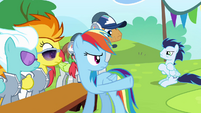 Soarin angry with crossed hooves S4E10