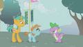 """Spike """"not gonna believe a word she says"""" S1E06.png"""