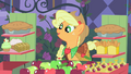 Applejack asks Soarin' which item he wants S1E26.png