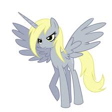 File:FANMADE Alicorn Derpy.jpg