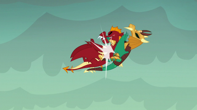 File:Garble crashes into armored dragon S6E5.png