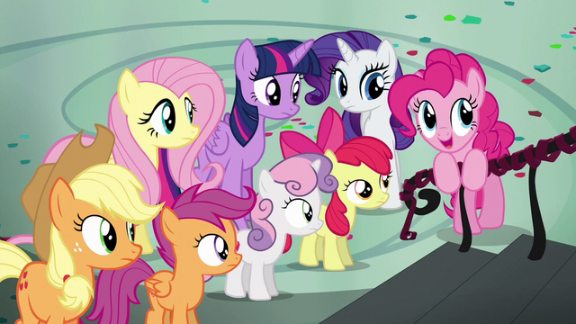 "File:Pinkie Pie ""look at the bright side"" S6E7.png"