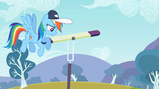 "File:Rainbow Dash ""Not agile"" S2E07.png"
