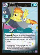 Spitfire, Cloudsdale Captain card MLP CCG
