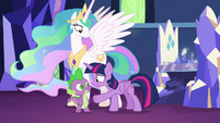 "Twilight Sparkle repeats ""but it could!"" S7E1"