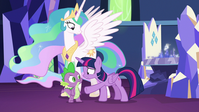 """File:Twilight Sparkle repeats """"but it could!"""" S7E1.png"""