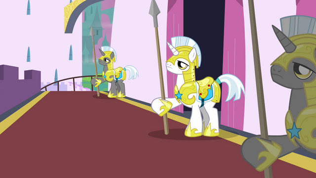 File:White Unicorn Guard S2E25.png