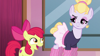 "Apple Bloom ""sounds an awful lot like friendship"" S6E4"