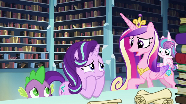 "File:Cadance ""you should bring him here"" S6E2.png"