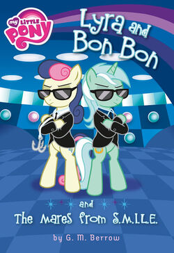 Lyra and Bon Bon and the Mares from SMILE book cover