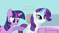 Rarity too focused S3E13