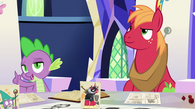 File:Spike explaining Sir McBiggen's character S6E17.png