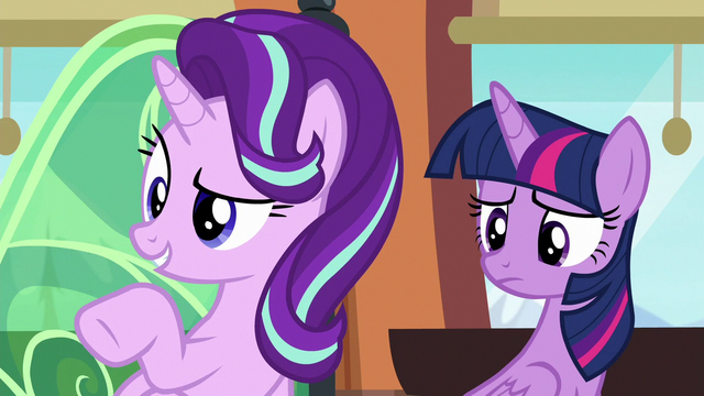 "File:Starlight ""why are you dressed like that?"" S6E16.png"