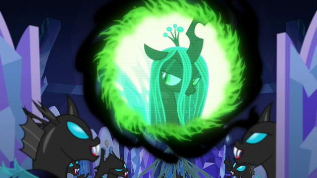 File:Changelings laughing with triumph S6E25.png