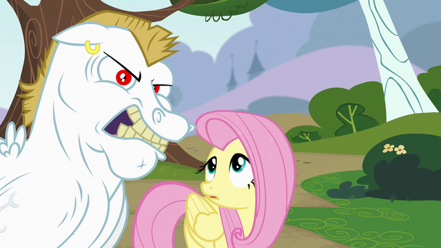 File:Fluttershy looking at Bulk Biceps S4E10.png