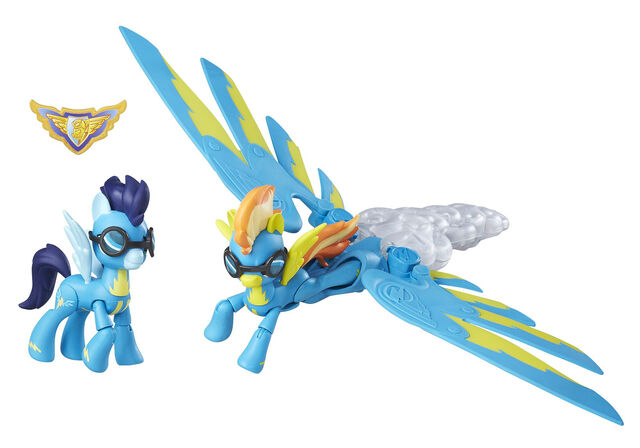File:Guardians of Harmony Spitfire and Soarin figures.jpg