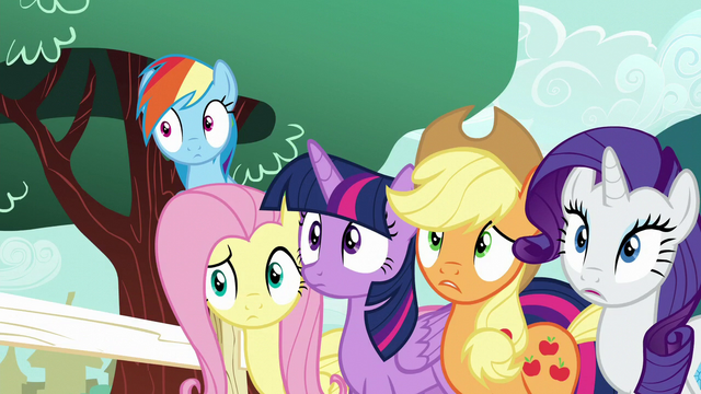 File:Main five surprised by Pinkie again S5E19.png